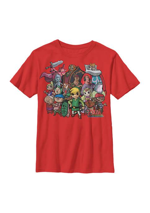 Nintendo Boys 4-7 Zelda Crew Graphic T-Shirt