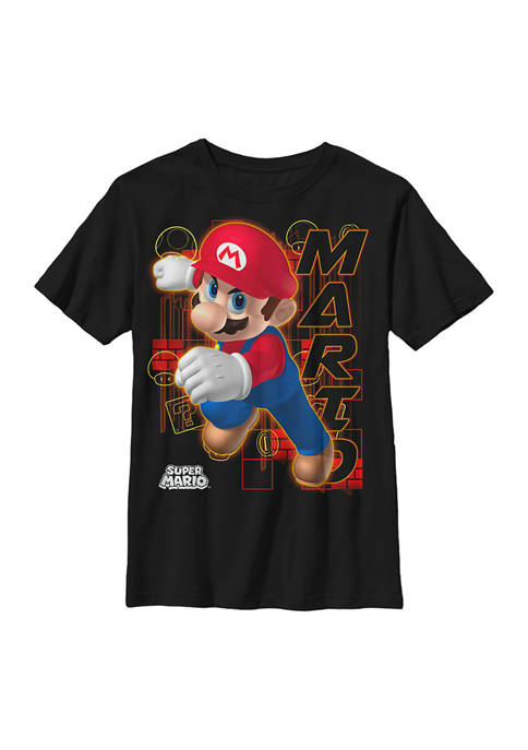 Boys 4-7 Candy Red Graphic T-Shirt