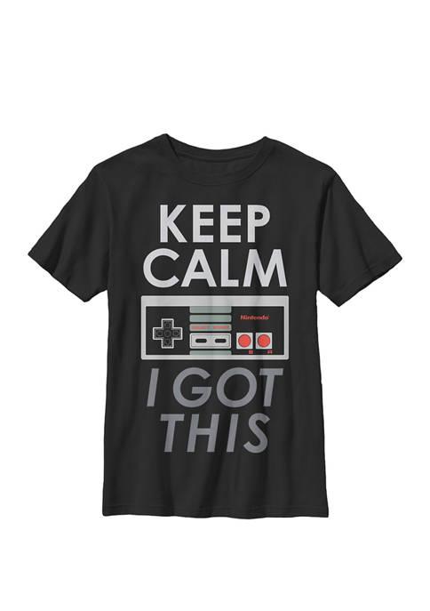 Nintendo Boys NES Controller Keep Calm I Got