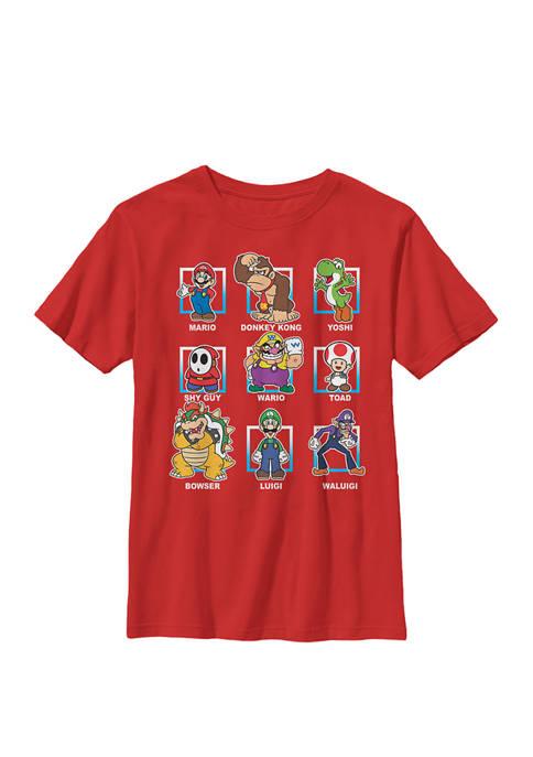 Nintendo Super Mario Classic Characters Group Shot Crew