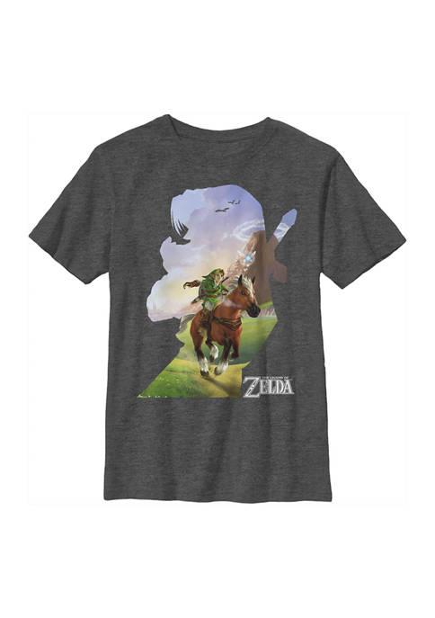 Nintendo Boys 4-7 Adventure Ahead Graphic T-Shirt
