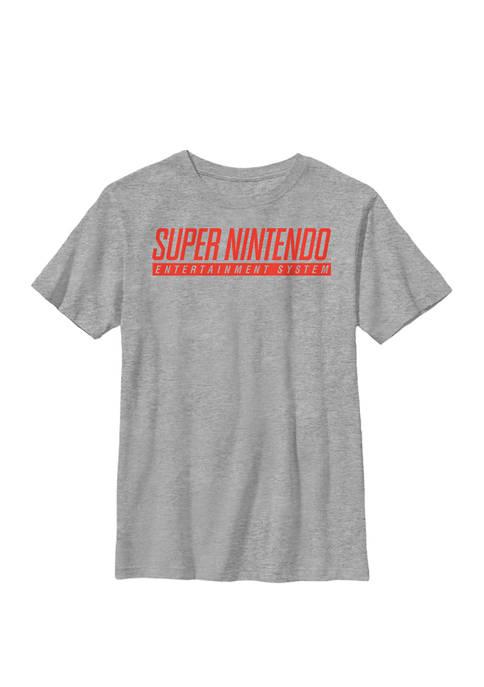 Entertainment System Classic Logo Crew Graphic T-Shirt