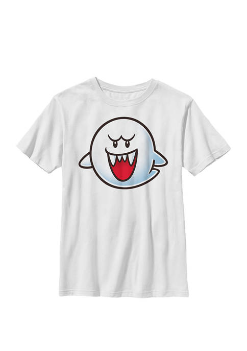 Super Mario Boo Face Crew T-Shirt