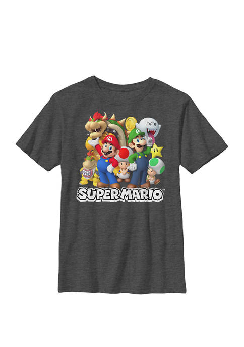 Nintendo Super Mario Good And Bad Guys Group