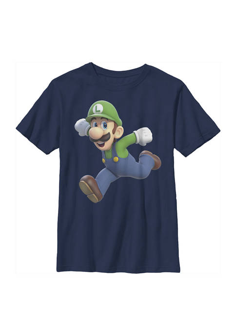Nintendo Boys 4-7 Luigi Smash Graphic T-Shirt
