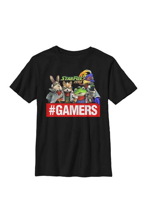 Nintendo Star Fox Zero Gamers Group Shot Crew