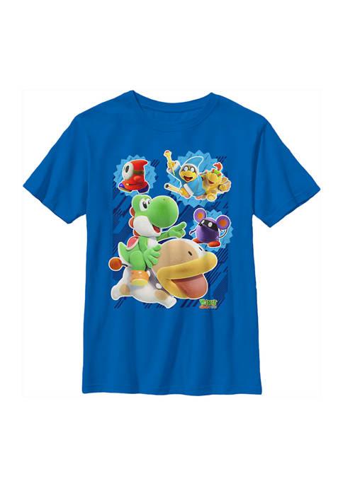 Nintendo Boys 4-7 Go Team Graphic T-Shirt