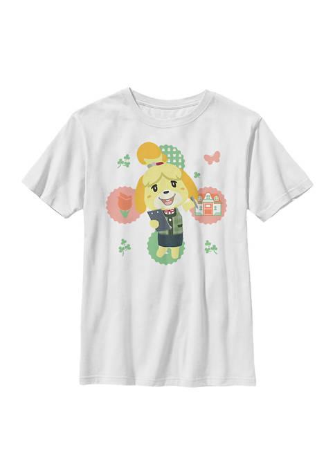 Nintendo Boys 4-7 Isabelle Graphic T-Shirt