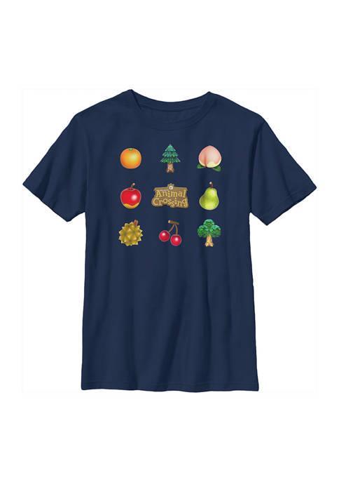 Nintendo Boys 4-7 Items Graphic T-Shirt