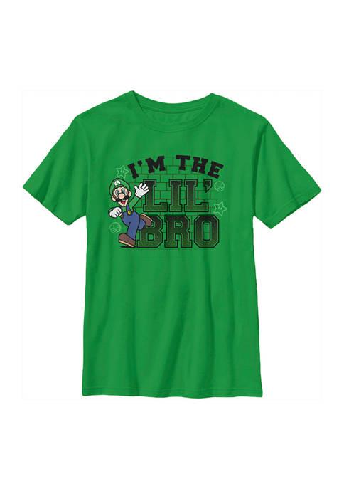 Nintendo Boys 4-7 Little Bro Graphic T-Shirt