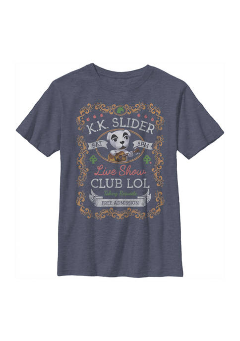 Nintendo Boys 4-7 KK Poster Graphic T-Shirt