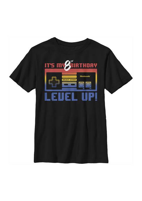Nintendo Boys 4-7 Level Eight Graphic T-Shirt