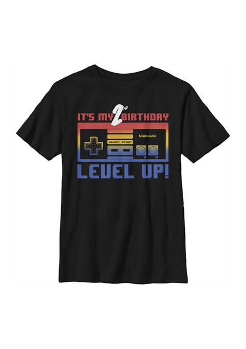 Nintendo Boys 4-7 Level Two Graphic T-Shirt