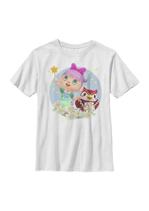 Nintendo Boys 4-7 Girly Graphic T-Shirt