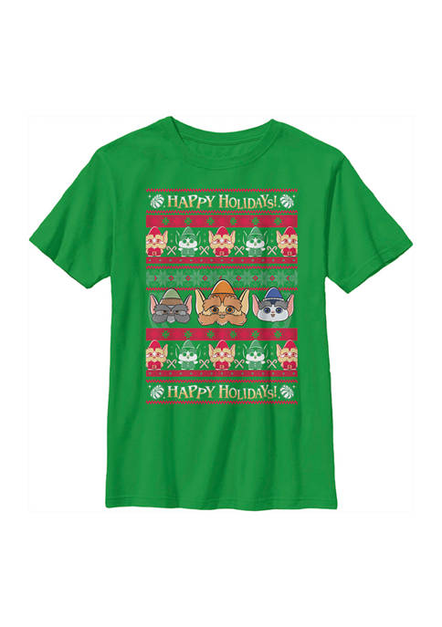Christmas Chronicles Boys 4-7 Elf Ugly Sweater Graphic