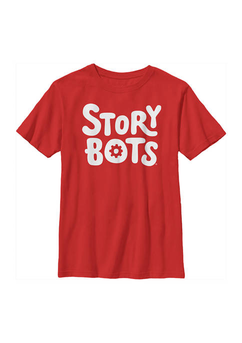Storybots Boys 4-7 Stacked Logo Graphic T-Shirt
