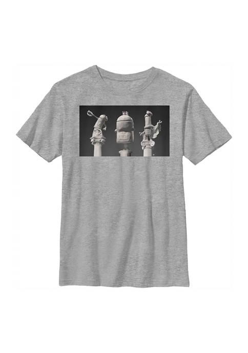 Boys 4-7 Ancient Sculptures Graphic T-Shirt