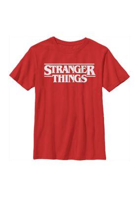 Boys Boys 4-7 Stranger Things Graphic T-Shirt