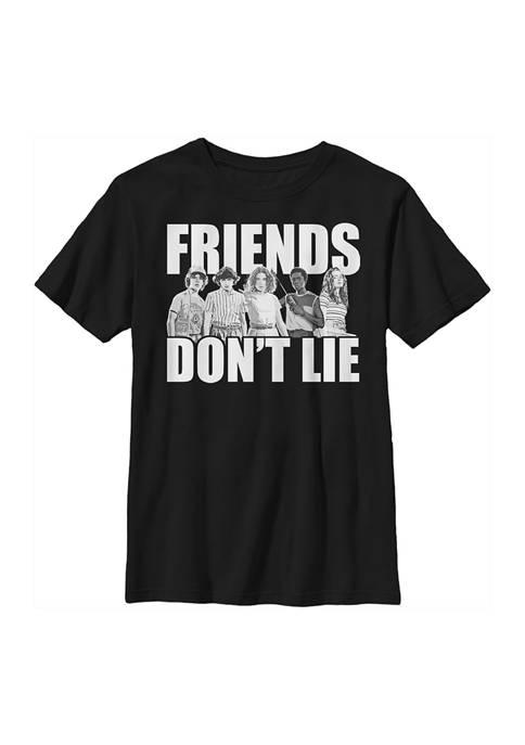 Stranger Things Boys 4-7 Cast Friends Dont Lie