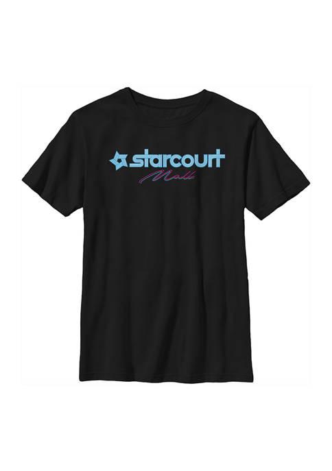 Stranger Things Boys 4-7 Starcourt Logo Graphic T-Shirt