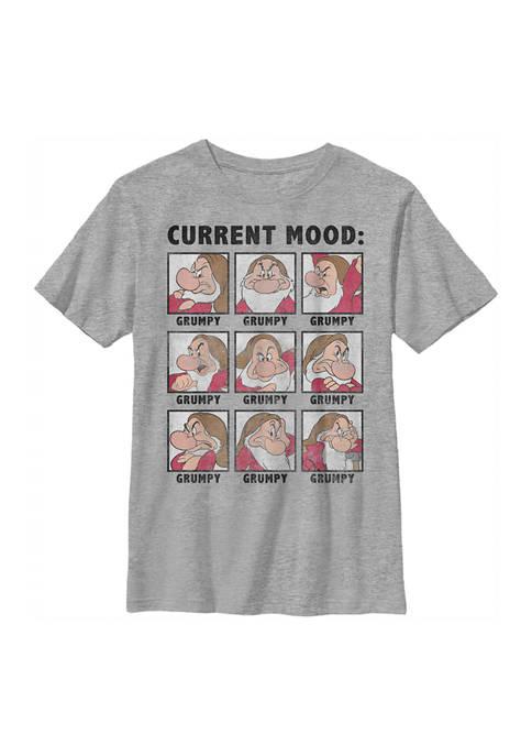Disney® Princess Boys 4-7 Current Mood Grumpy Graphic