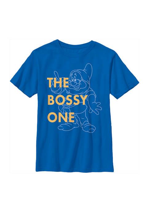 Disney® Princess Boys 4-7 One Bossy Dwarf Graphic