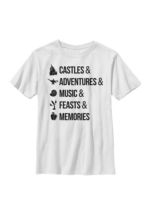 Disney® Princess Boys 4-7 Just Disney Things Graphic