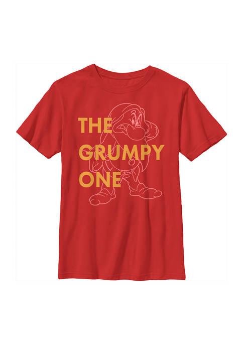 Disney® Princess Boys 4-7 One Grumpy Dwarf Graphic