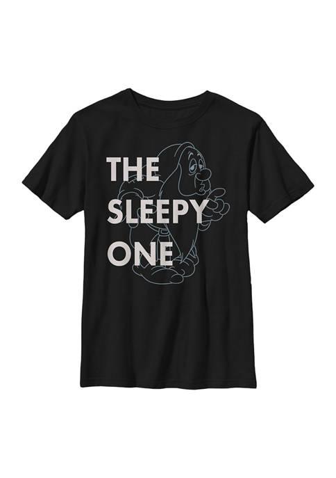Disney® Princess Boys 4-7 One Sleepy Dwarf Graphic