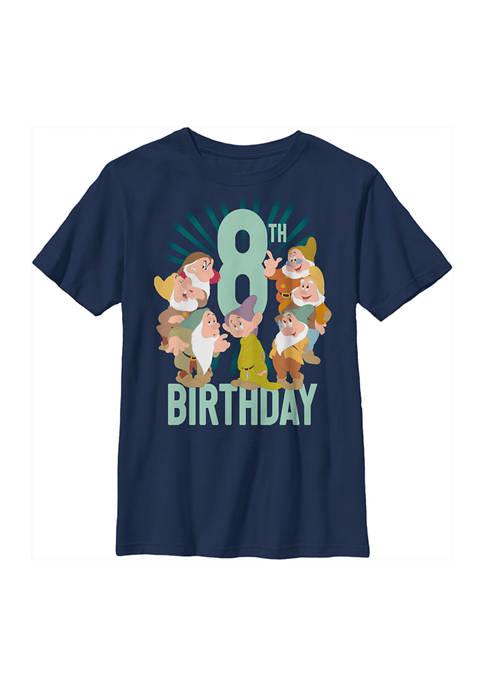 Disney® Princess Boys 4-7 Dwarves 8th Birthday Graphic