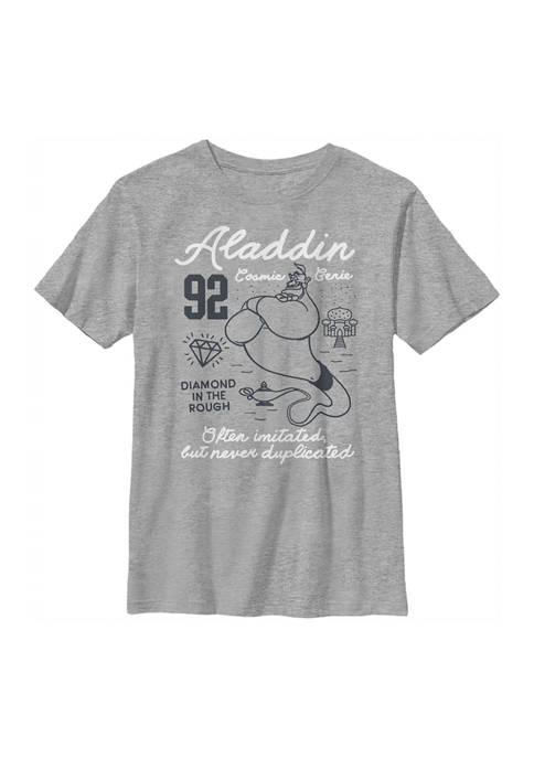 Disney® Princess Boys 4-7 Genie Linework Graphic T-Shirt