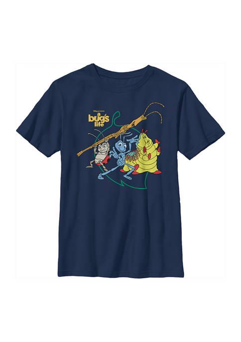 Disney® Boys 4-7 Big Leaf Graphic T-Shirt