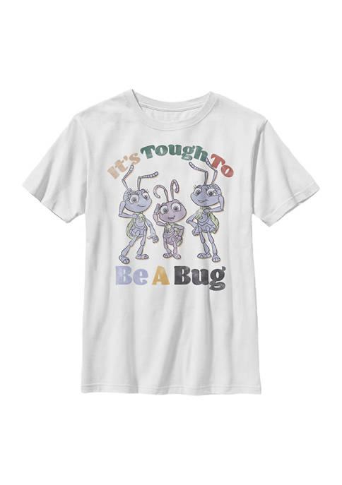 Disney® Boys 4-7 Big And Small Graphic T-Shirt
