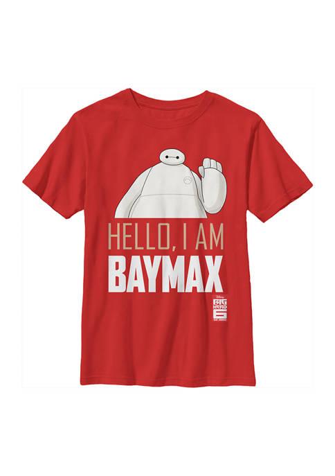 Big Hero 6 Boys 4-7 Hello Baymax Graphic