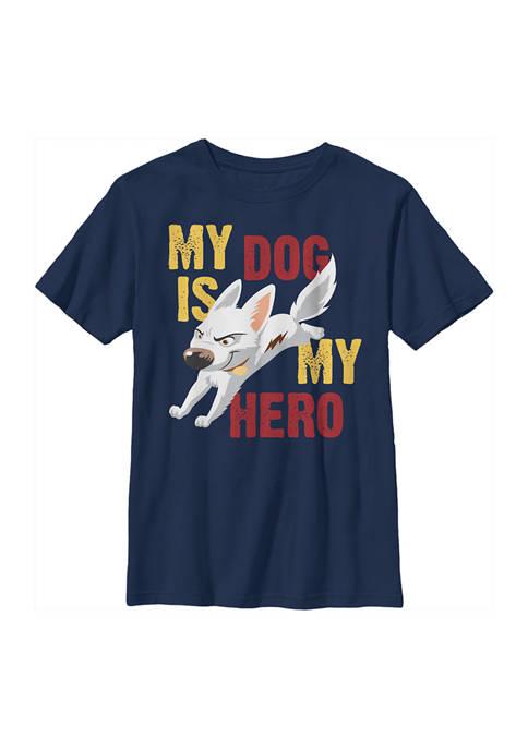 Bolt Boys 4-7 Hero Dog Graphic T-Shirt