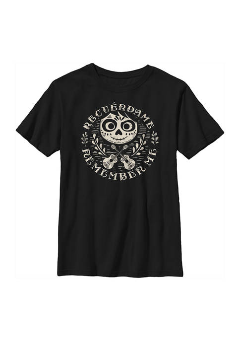 Coco Boys 4-7 Circle Remember Graphic T-Shirt