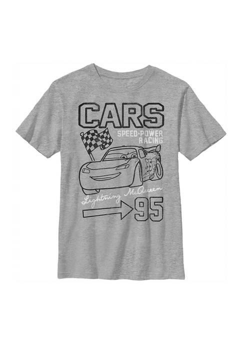 Disney® Cars™ Boys 4-7 Vroom Graphic T-Shirt