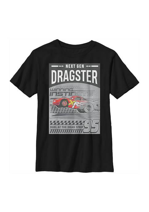 Disney® Cars™ Boys 4-7 Dragster Gen Graphic T-Shirt