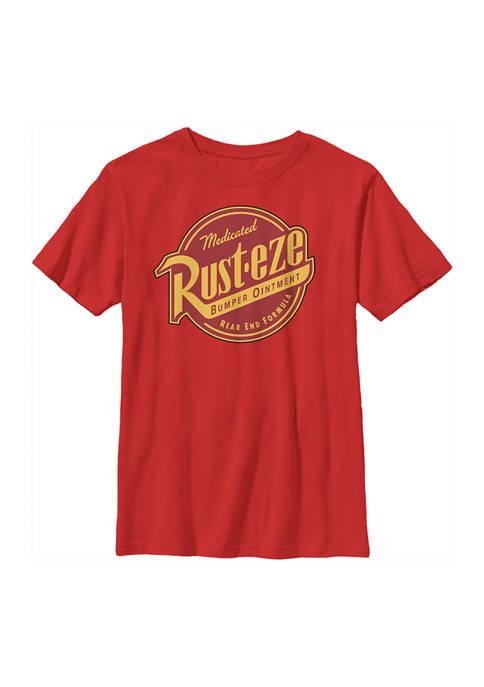 Disney® Cars™ Boys 4-7 Rusteze Label Graphic T-Shirt