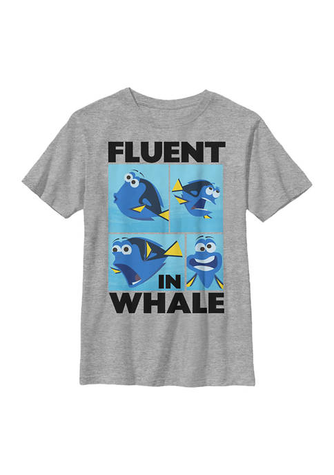 Finding Dory™ Boys 4-7 Whale Talk Graphic T-Shirt