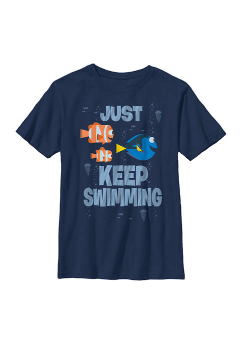 Finding Dory™ Boys 4-7 Just Keep Swimming Graphic
