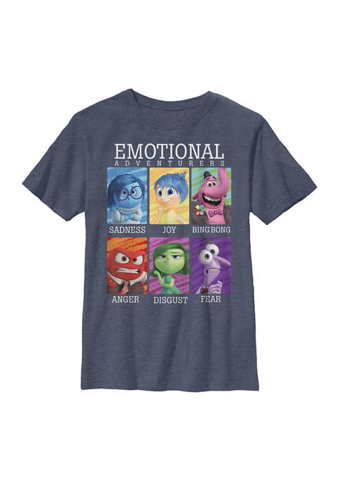 Inside Out Boys 4-7 Yearbook Graphic T-Shirt