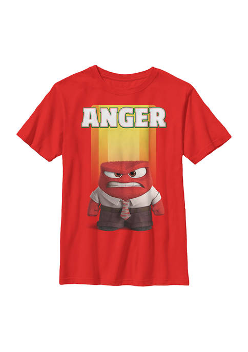 Inside Out Boys 4-7 Anger Graphic T-Shirt
