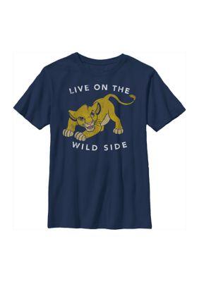 Disney The Lion King Boys Boys 4-7 Wild One Graphic T-Shirt