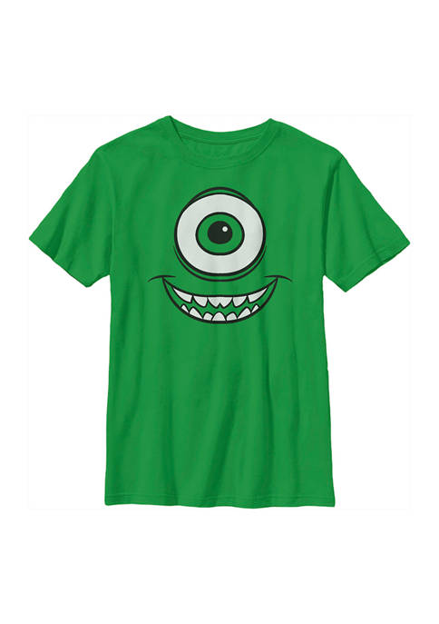 Boys 4-7  Mike Face Graphic T-Shirt
