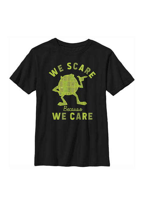 Boys 4-7  Scare For Care Mike Graphic T-Shirt