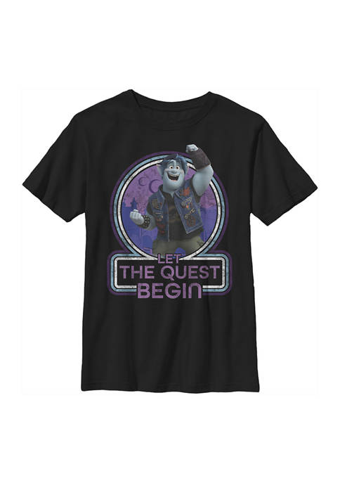 Onward Boys 4-7 Begin Quest Graphic T-Shirt
