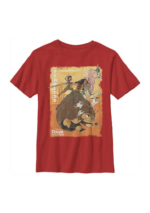Boys 4-7  Raya Bounce Group Graphic T-Shirt