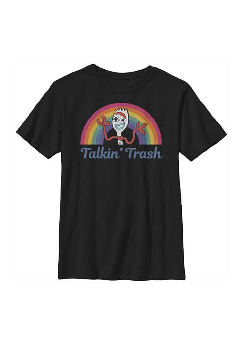 Boys 4-7  Talkin Trash Graphic T-Shirt