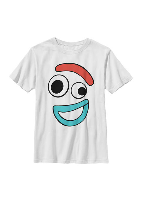 Boys 4-7 Big Face Smiling Forky Graphic T-Shirt